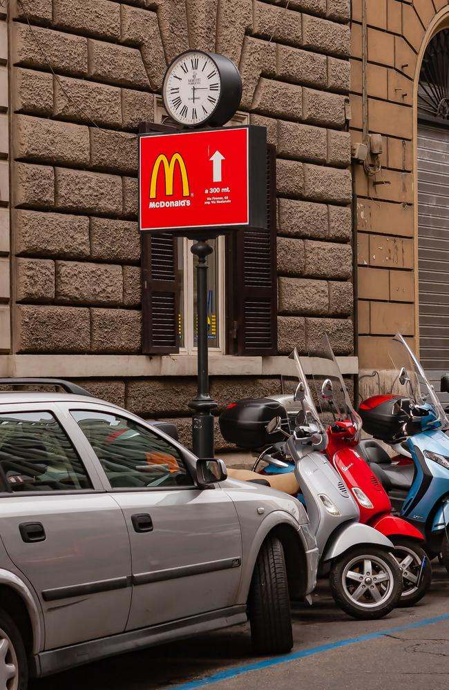 Rome have knocked back the development of another McDonald's in Rome.