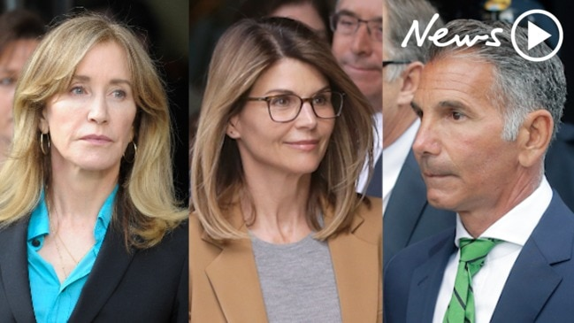 College bribery scandal: Lori Loughlin and husband charged with money laundering