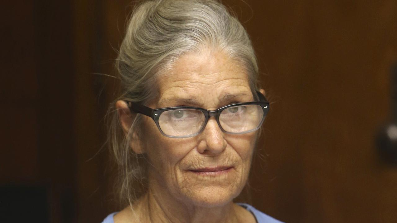 """The youngest member of Charles Manson's """"family"""", Leslie Van Houten, has been recommended for parole. Picture: AP"""