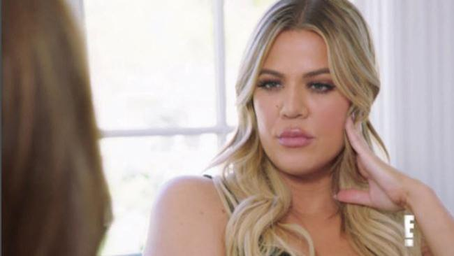 Khloe Kardashian confronts Caitlyn Jenner about Kris