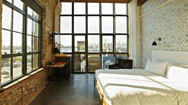 A room from Brooklyn's Wythe Hotel.