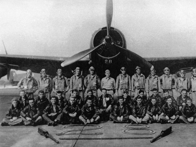 Torpedo Bomber #28, the lead plane of Flight 19, which vanished Dec. 5, 1945.