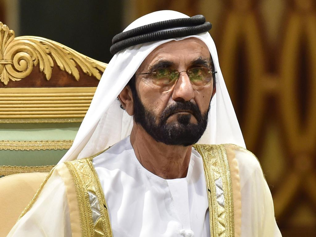 It is believed the princess may be in 'grave danger' at the hands of her father, Sheikh Mohammed bin Rashid Al-Maktoum. Picture: Fayez Nureldine/AFP
