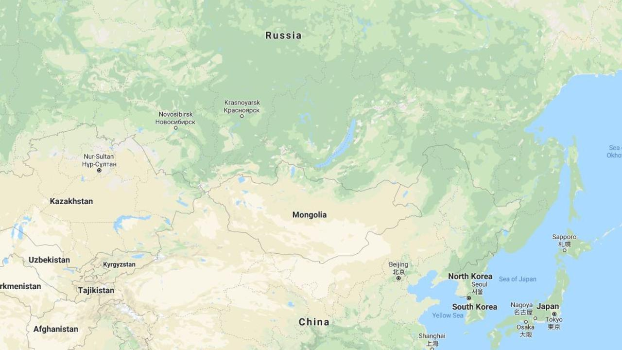The Chinese-Russian border is one of the longest international borders in the world. Picture: Google Maps
