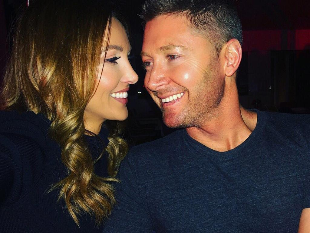 Kyly Boldy and Michael Clarke remain on good terms.