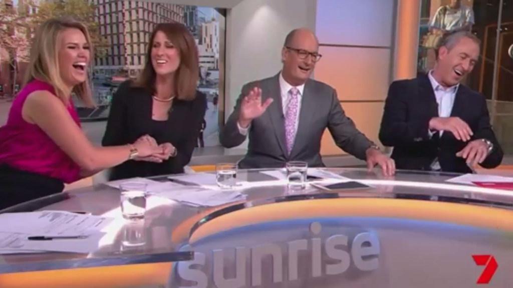 Eddy pranks the Sunrise team