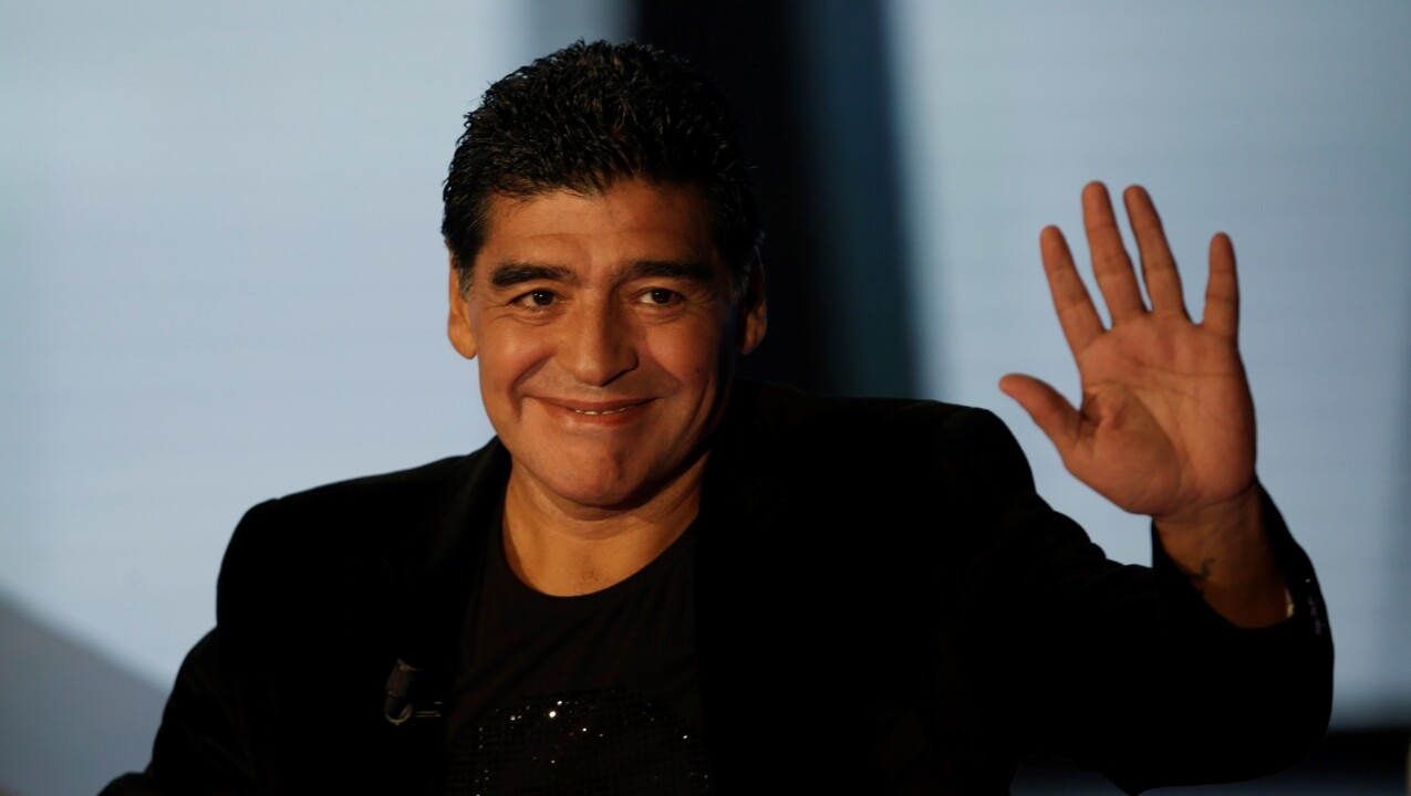Football star Diego Maradona dies aged 60 after heart attack