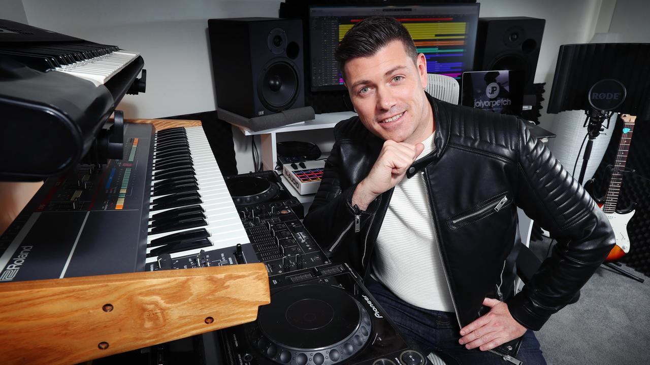 Melbourne DJ Jolyon Petch has remade Fleetwood Mac's Dreams. Picture Rebecca Michael.