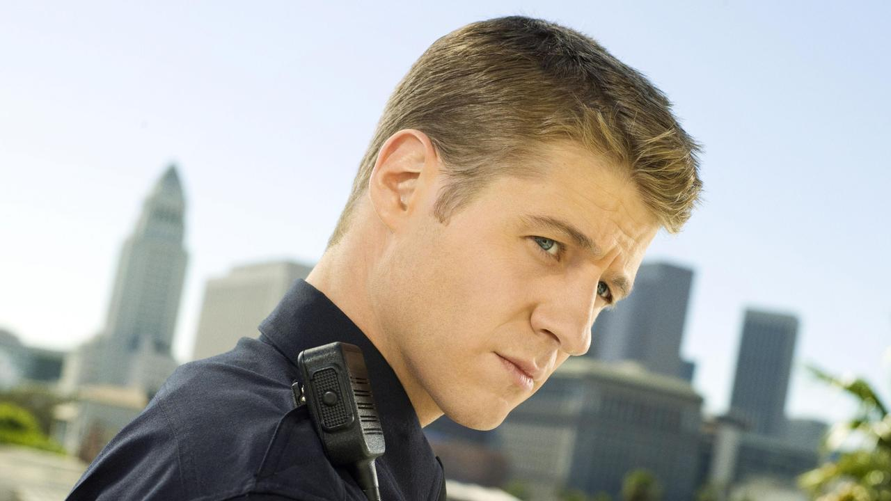 Actor Ben McKenzie in TV show Southland. Picture: Channel 9.