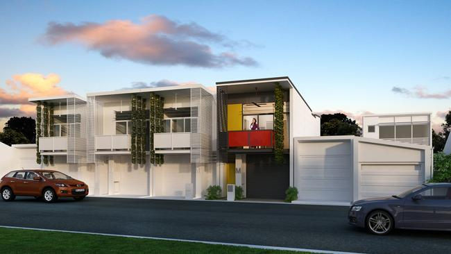Gold Coast architect Amy Degenhart was a short-listed entry in the World Architecture Festival Awards for 'The Micro' model, built northwest of Brisbane.