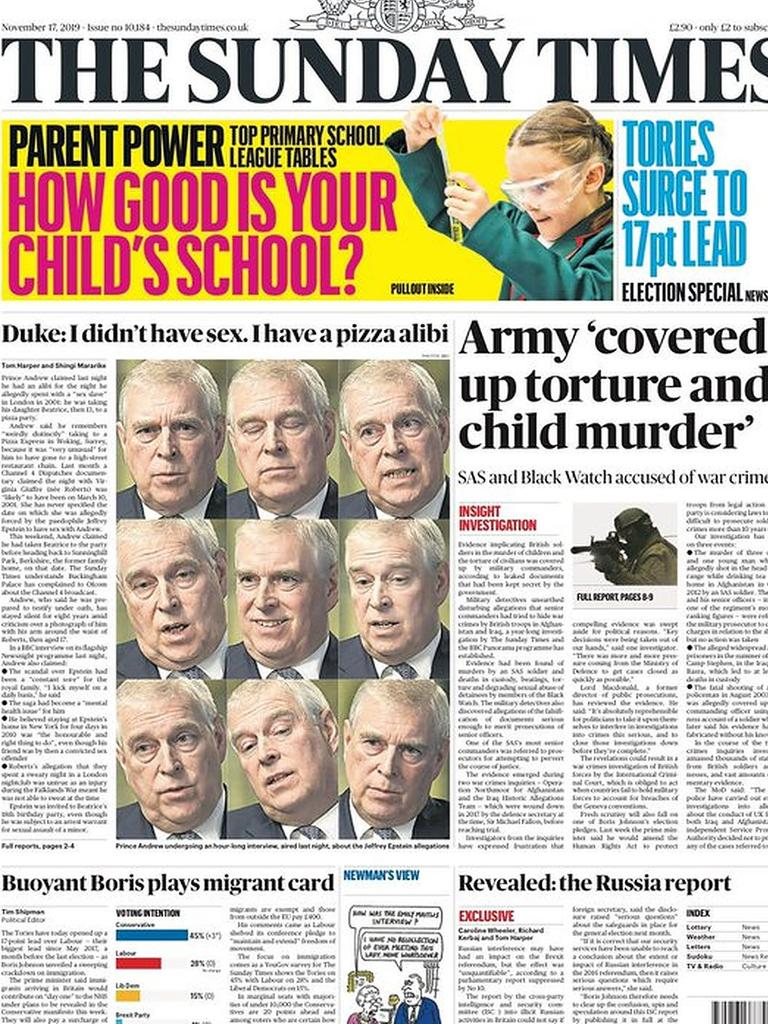The Sunday Times.