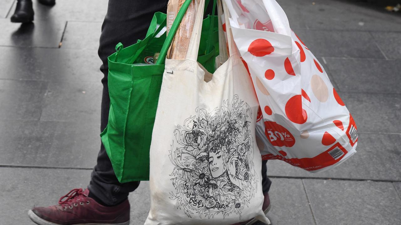 All retail outlets in Victoria will soon ban plastic bags. Picture: Peter Rae/AAP