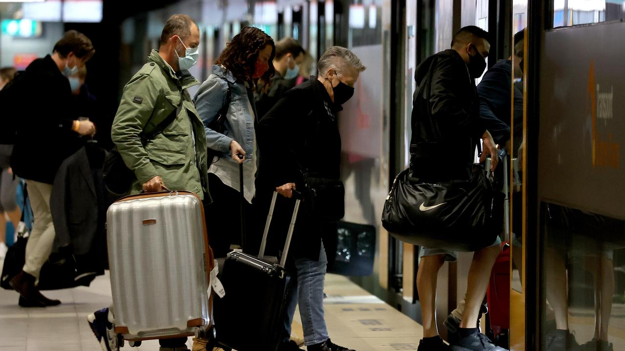 International tourists won't be coming into Australia until 2022. Picture: Dylan Coker/NCA NewsWire