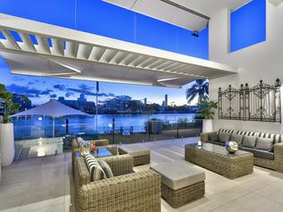 The $6.9M home has multiple living areas