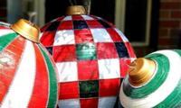Kmart mum creates the ultimate giant bauble hack