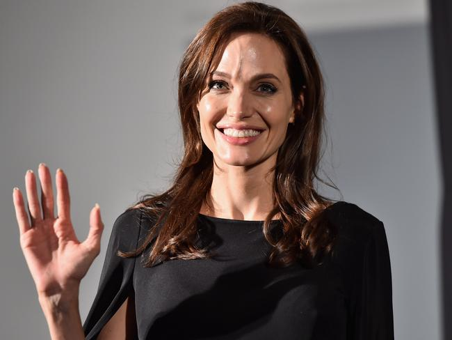 """Harsh words ... Humanitarian Angelina Jolie was dismissed as a """"spoiled brat"""" in leaked Hollywood emails. Picture: Getty"""