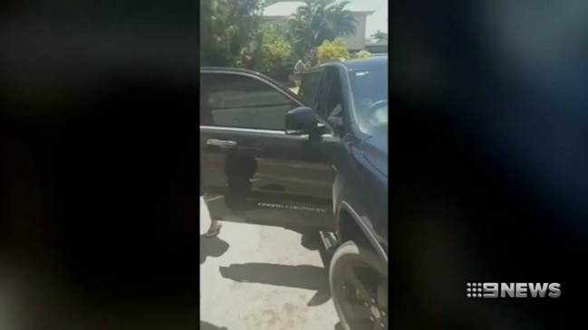 Prison escapee Bodhi Johnston caught after hooning through Townsville (9 News)