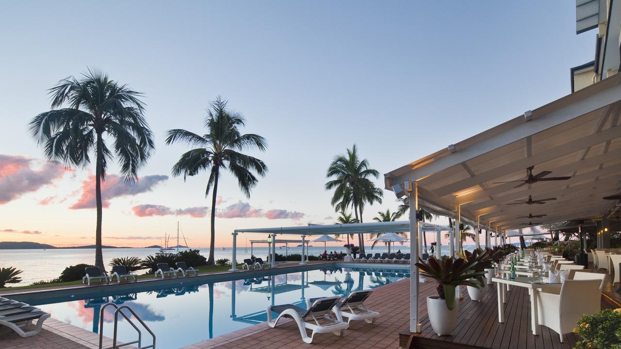 Coral Sea Resort at Airlie Beach.