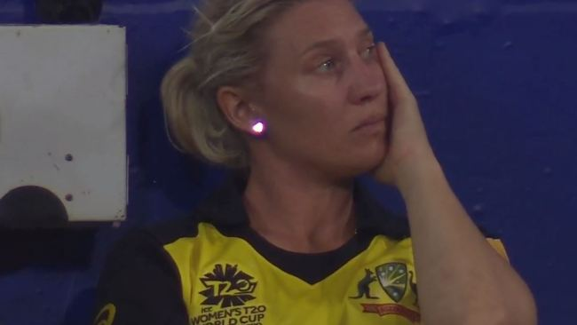 The loss hit hard for the Aussies on home soil.