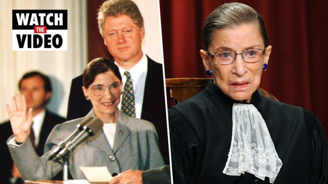 Justice Ruth Bader Ginsburg loses battle to cancer at age 87
