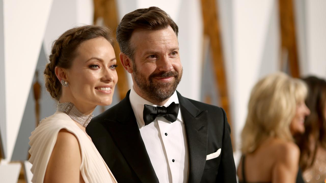 Olivia Wilde and Jason Sudeikis were engaged. Picture: Christopher Polk/Getty Images