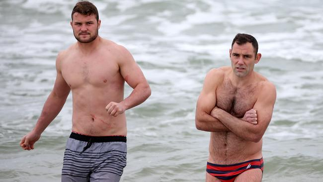 Cameron Smith looks like he could do with a trip north … (Michael Klein)