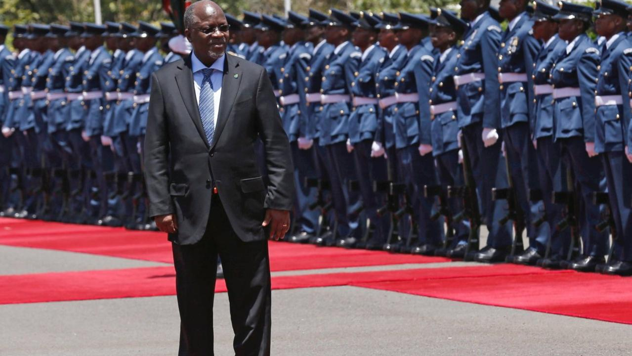 Tanzania's President John Magufuli declared the nation is free of COVID. Picture: Thomas Mukoya/Reuters