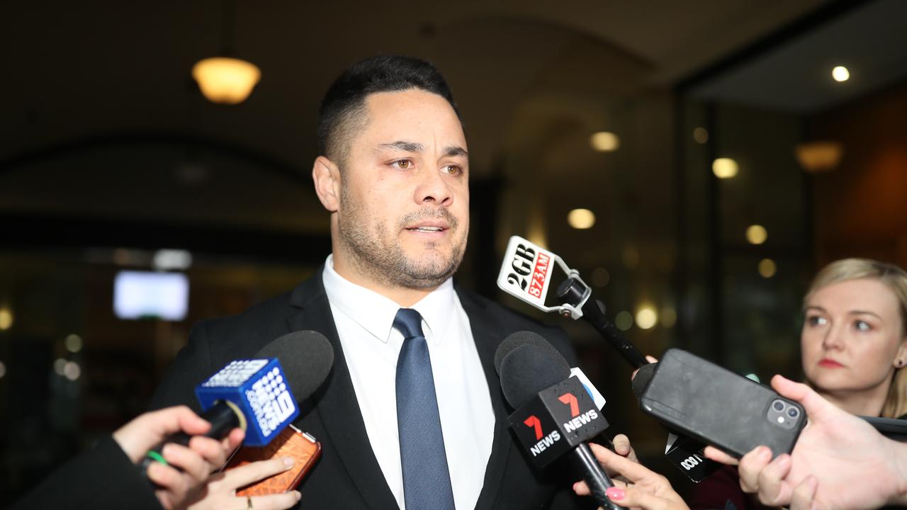 Hayne will appear the conviction. Picture: NCA NewsWire / Christian Gilles