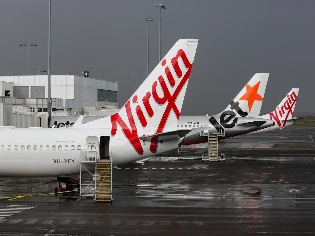 The fresh wave of lockdowns has set Australia's airlines back. Picture: Gaye Gerard/NCA NewsWire