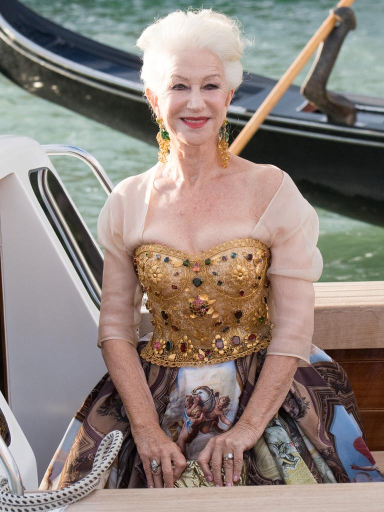 As was Dame Helen Mirren. Picture: Jacopo Raule/Getty Images