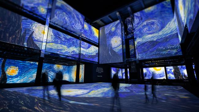 Interact with Van Gogh's masterpieces at one of the exhibitions around Australia. Picture: Supplied