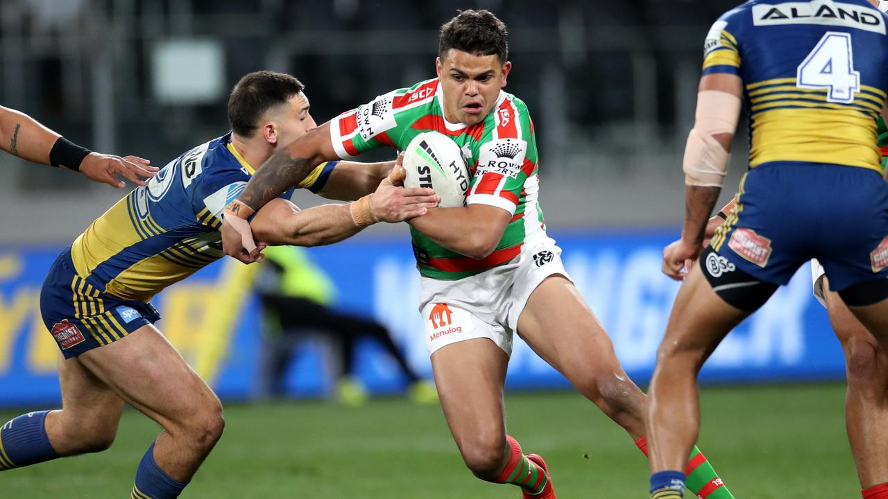 Latrell Mitchell is pivotal to Bennett's chances at an NRL title. Picture: Phil Hillyard