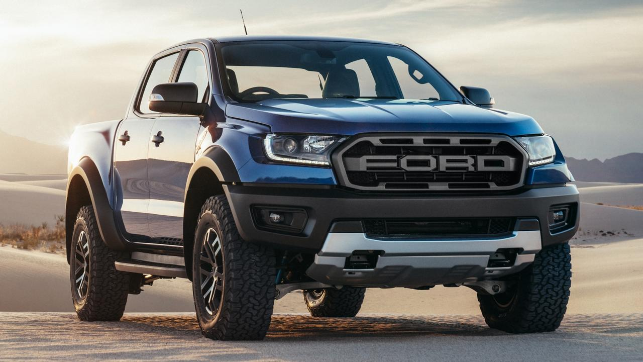 Australia's appetite for utes has prompted the arrival of performance editions such as the Ford Ranger Raptor. Picture: Supplied.