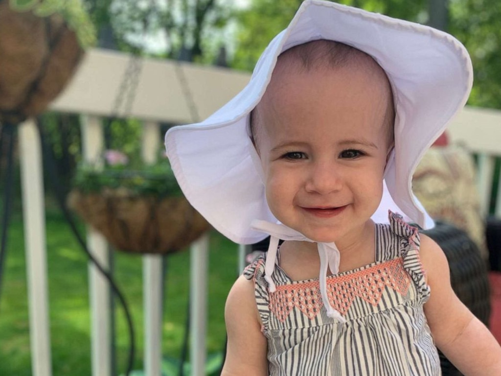 Little Chloe died after plummeting off the 11th floor of a cruise ship. Picture: Attorney Michael Winkleman