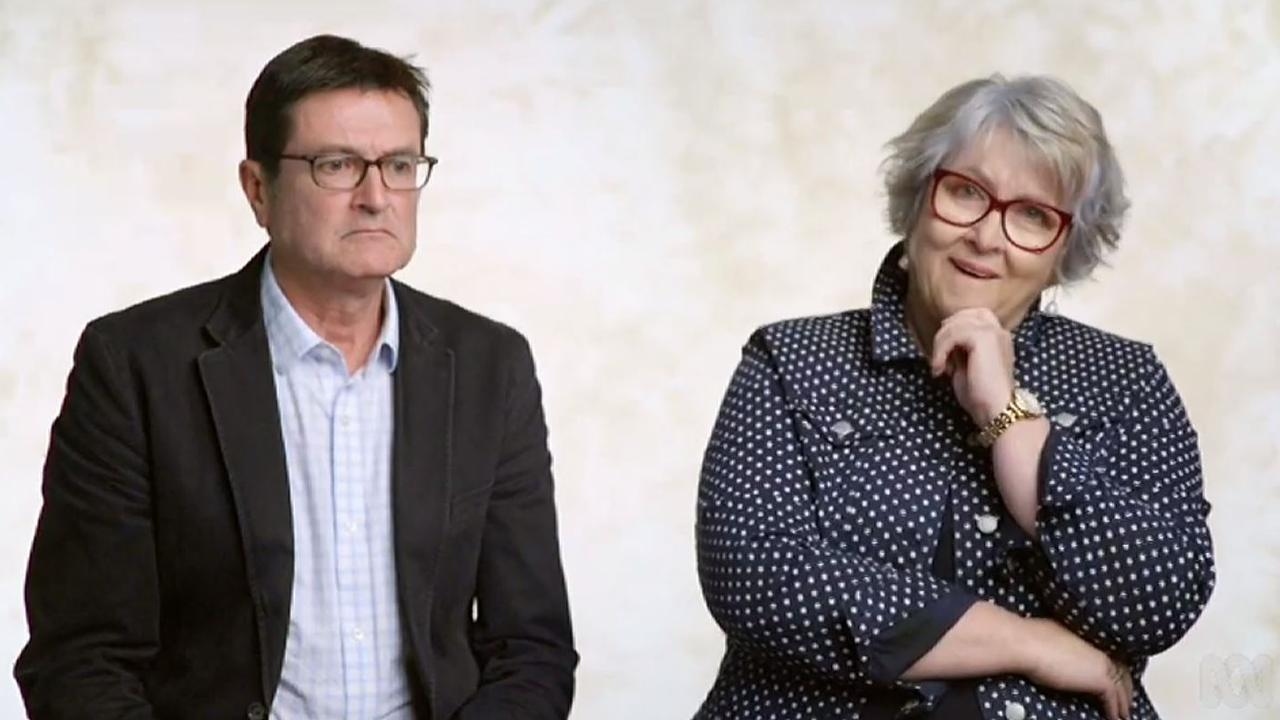 Greg Combet with ex-politician Cheryl Kernot. Combet said sexism in Canberra was rife. Picture: ABC.