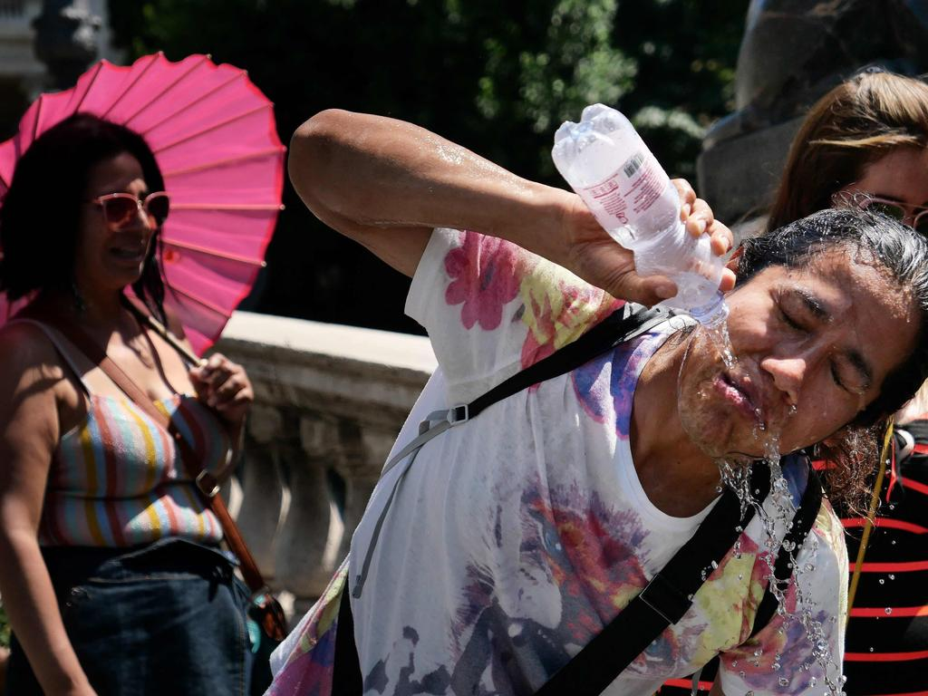 Europe has been hit by soaring temperatures. Picture: AFP