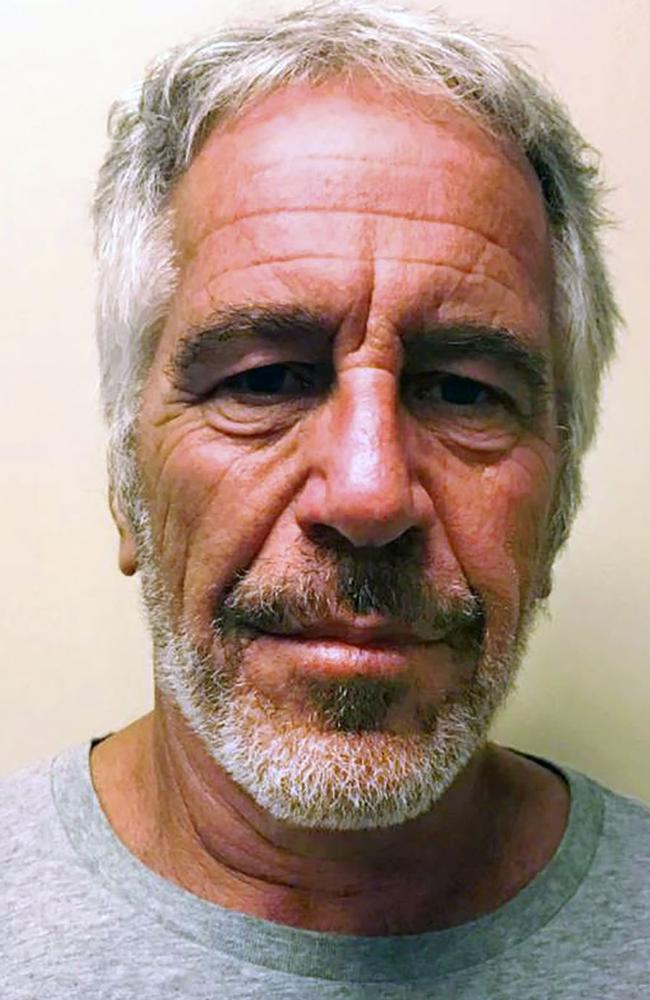 The artists claims Epstein was her 'older, rich boyfriend' in the early 2000s. Picture: HO/New York State Sex Offender Registry/AFP