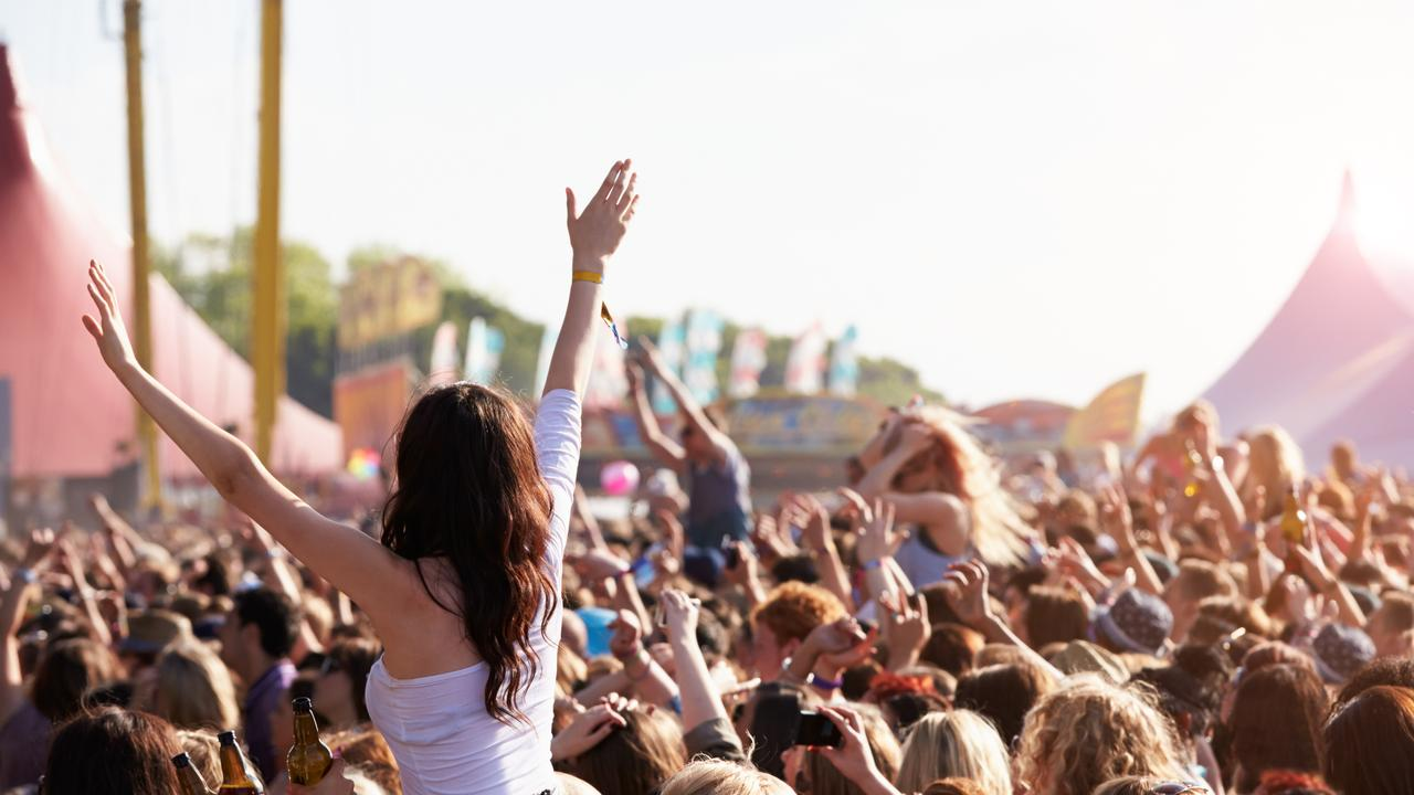 Seven pills with deadly substances were found during the second pill testing trial at Groovin The Moo. Picture: Tracey Nearmy