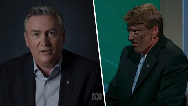 Eddie McGuire defends Sam Newman over blackface stunt (ABC)