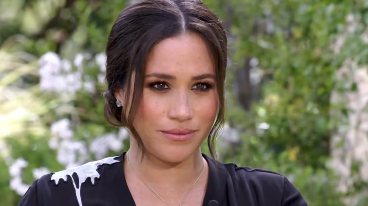 Meghan Markle recently spoke to Oprah in a tell-all interview. Picture: CBS