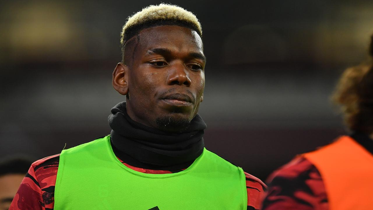 Paul Pogba's United future is in doubt. (Photo by Justin Setterfield/Getty Images)