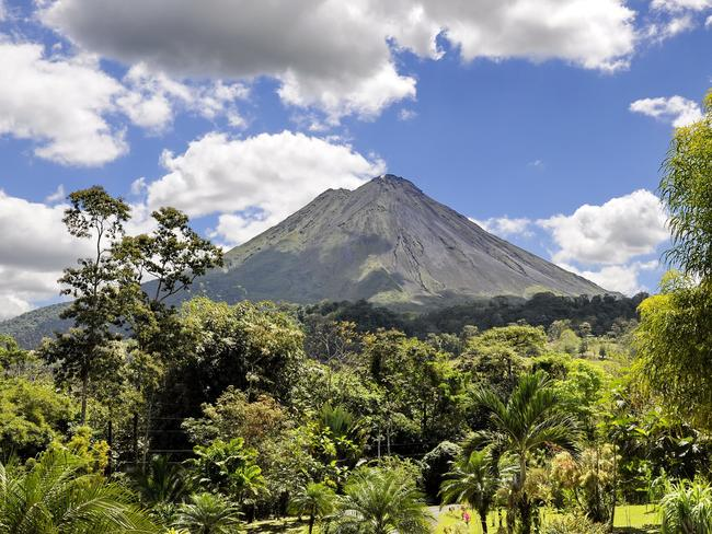 1/20Hike around Arenal Volcano, Costa RicaArenal is considered the adventure capital of Costa Rica, and it's easy to see why. You can hike through rainforest, zip line over forest canopy or swim in waterfalls. And for those who want to do nothing at all, the volcano's many hot springs are a relaxing setting to spend the day.