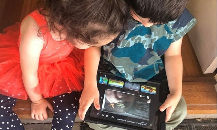 I was told I was 'lazy' for giving my kid an iPad