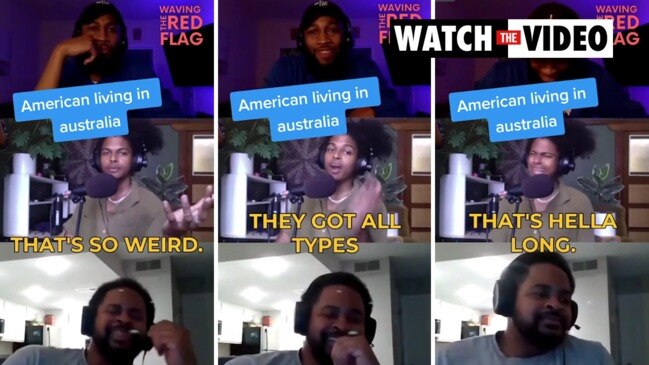 An American YouTuber living in Melbourne rips Aussie slang in hilarious video