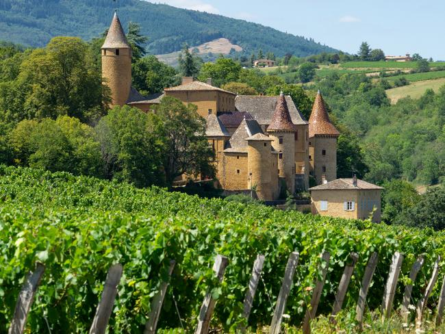 BEAUJOLAIS CHATEAUX France's Beaujolais region does more than wine production. Its chateaux are beautiful. -Michel Panada (Pic of the Week — October 20, 2019)