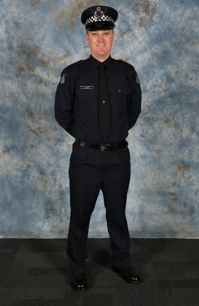 Constable Glen Humphris. Picture: Victoria Police