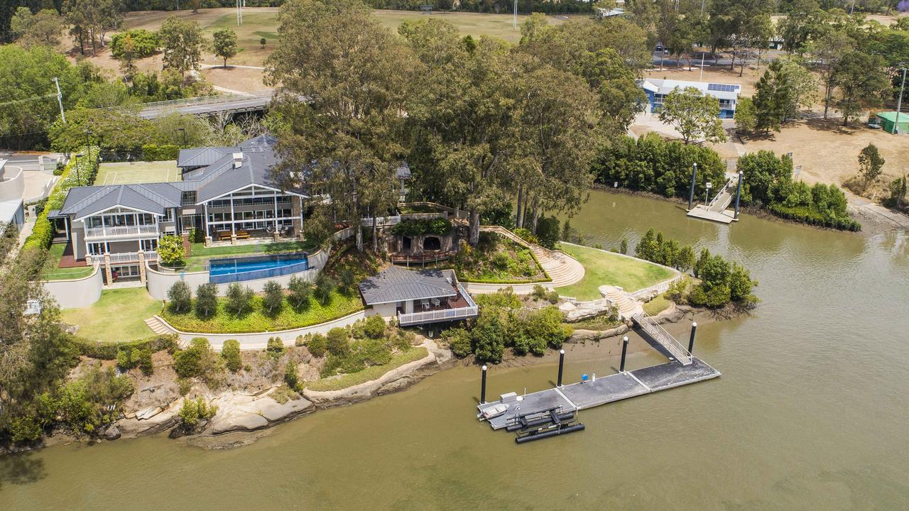 This house at 1 King Arthur Terrace, Tennyson, has sold for about $17m.