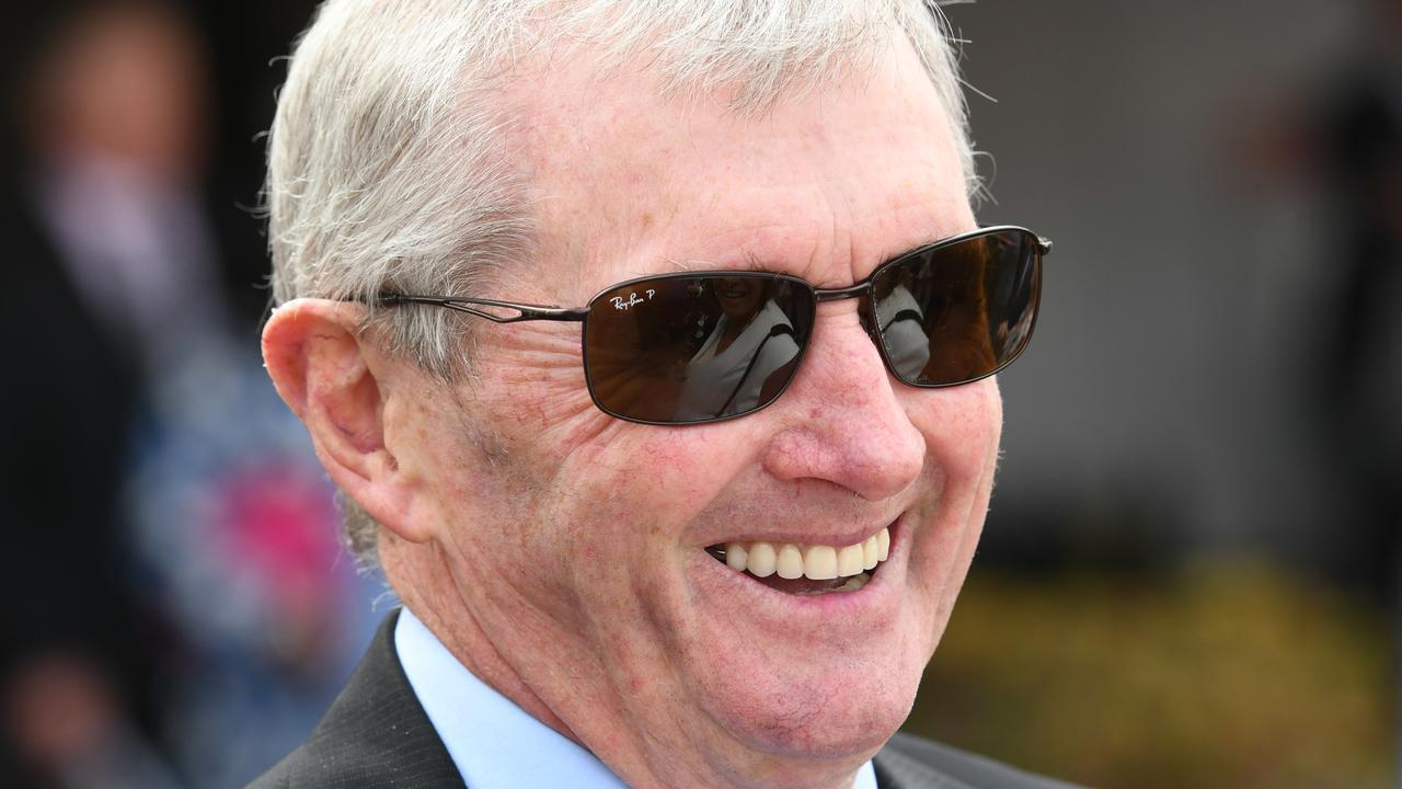 Hall of Fame trainer John Hawkes has always thought highly of Masked Crusader. Picture: AAP