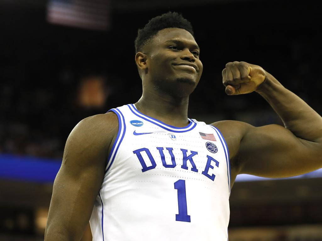 Zion Williamson wore No. 1 at Duke for a reason.