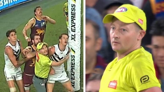 The best goal umpire ever?